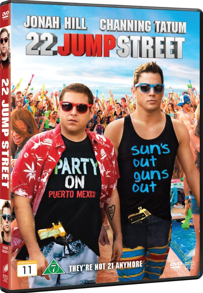 Image of   22 Jump Street - DVD - Film