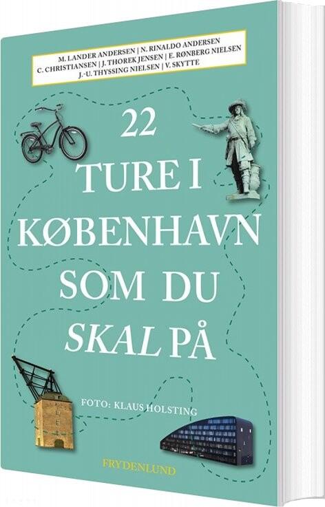 Image of   22 Ture I København Som Du Skal På - Vibe Skytte - Bog