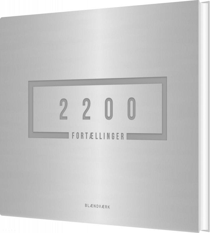 Image of   2200 Fortællinger - Rasmus Stochflet Nielsen - Bog
