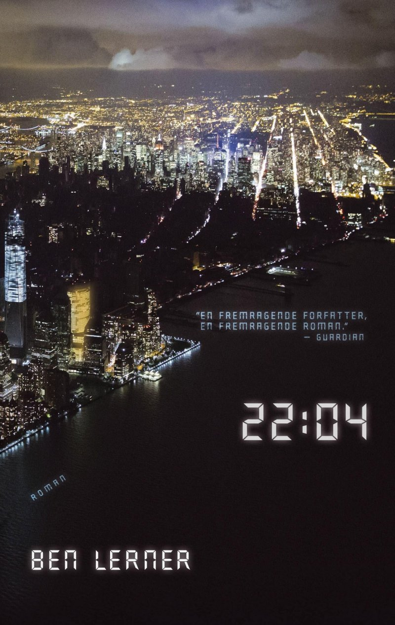 Image of   22:04 - Ben Lerner - Bog