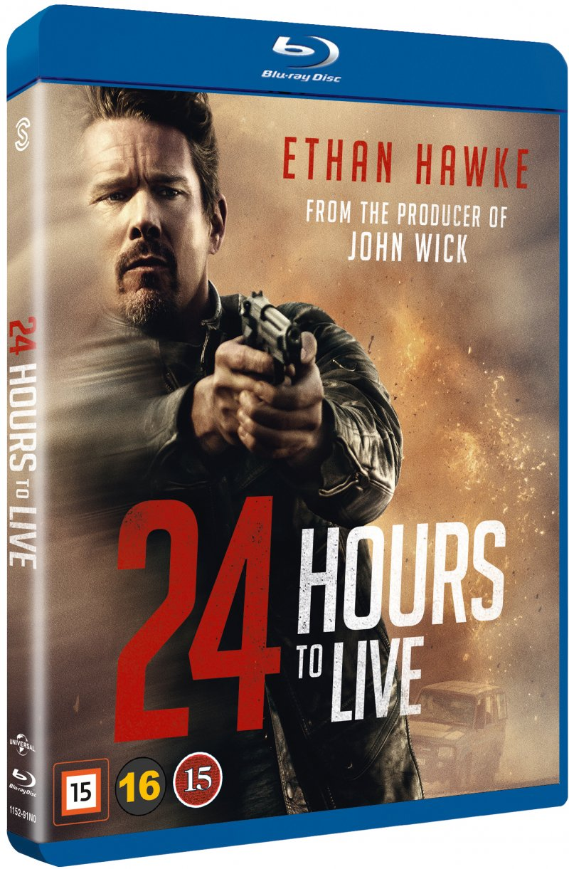 Image of   24 Hours To Live - Blu-Ray