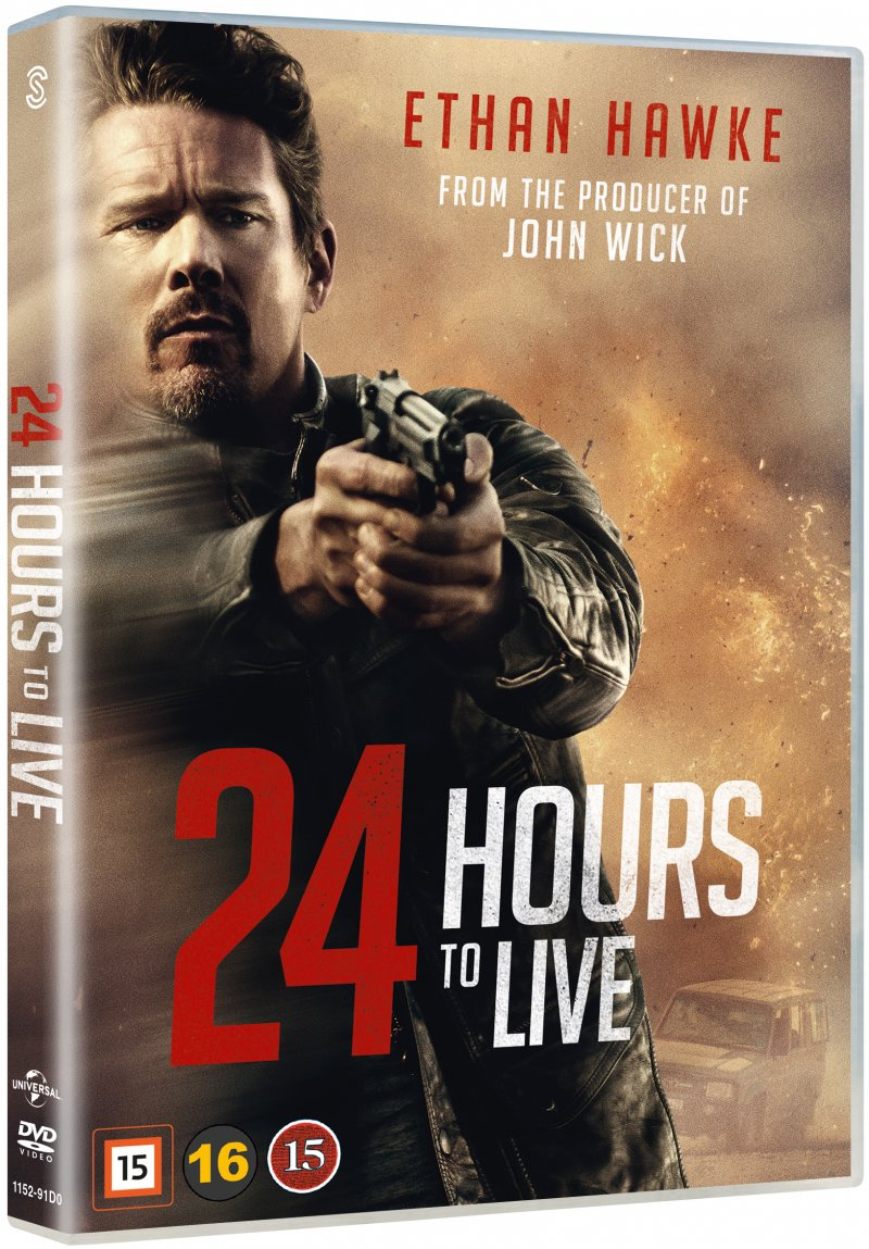 Image of   24 Hours To Live - DVD - Film