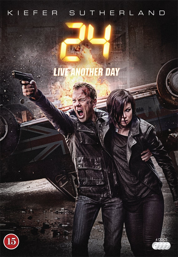 Image of   24: Live Another Day - DVD - Tv-serie