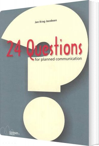 Image of   24 Questions For Planned Communication - Jan Krag Jacobsen - Bog