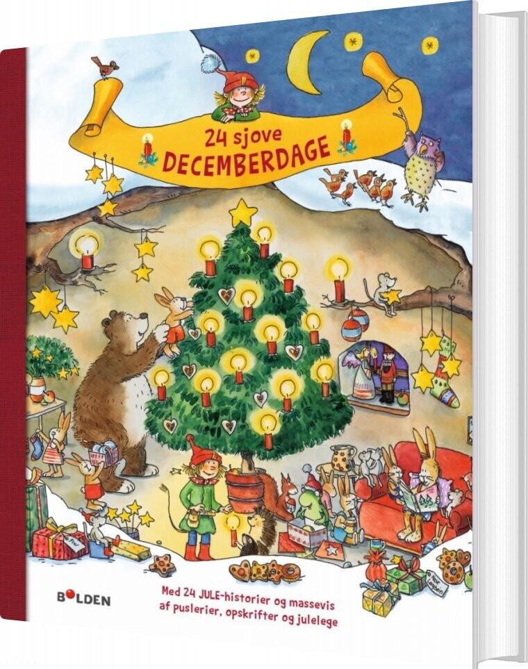 Image of   24 Sjove Decemberdage - Diverse - Bog