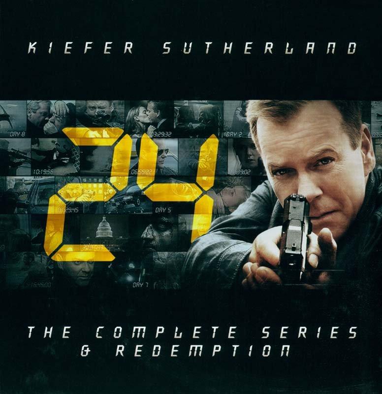 Image of   24 Timer Boks - Komplet Samling - Sæson 1-8 + Redemption I Box - DVD - Tv-serie