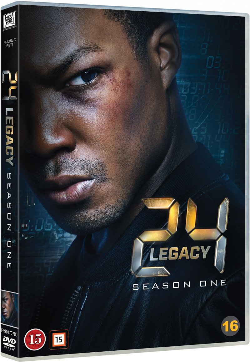 Image of   24 Timer: Legacy - Sæson 1 - DVD - Tv-serie