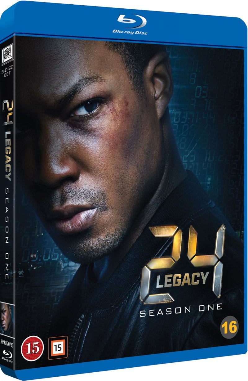 Image of   24 Timer: Legacy - Blu-Ray - Tv-serie