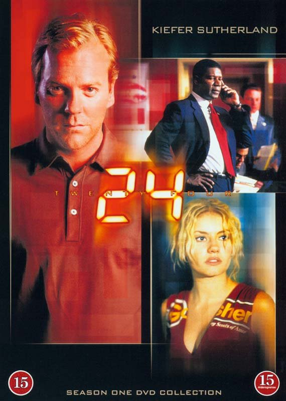 Image of   24 Timer - Sæson 1 - DVD - Tv-serie