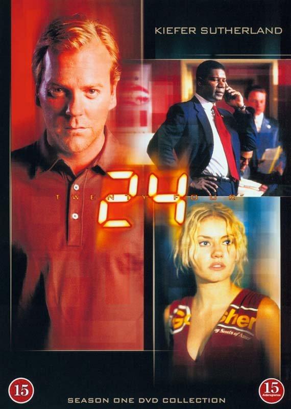 Image of   24 Timer - Sæson 1 - DVD - Tv-serie