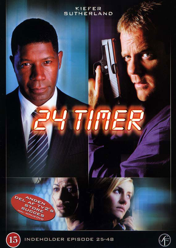 Image of   24 Timer - Sæson 2 - DVD - Tv-serie