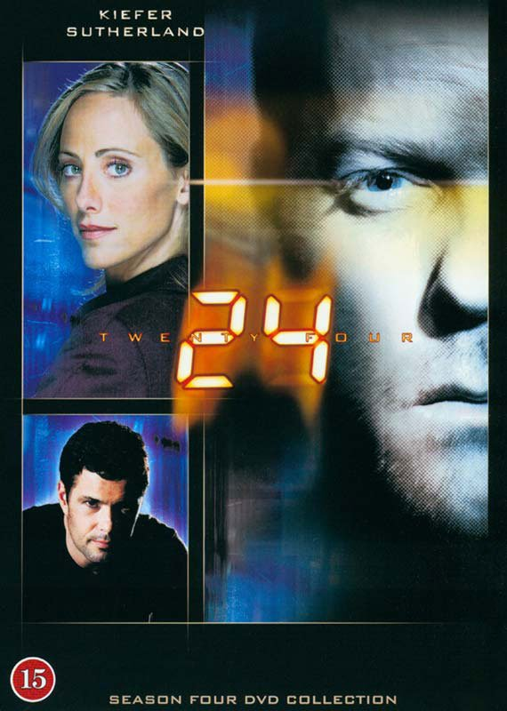 Image of   24 Timer - Sæson 4 - DVD - Tv-serie