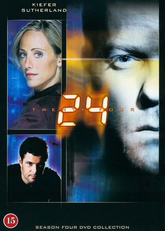 Image of   24 Timer - Sæson 4 - DVD - Tv-serie