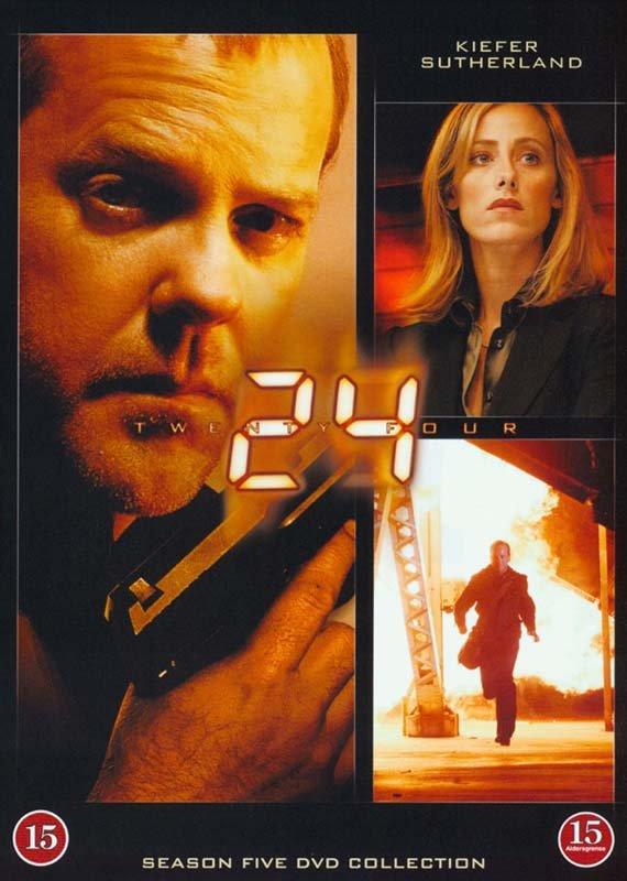Image of   24 Timer - Sæson 5 - DVD - Tv-serie