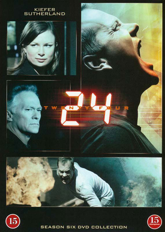 Image of   24 Timer - Sæson 6 - DVD - Tv-serie