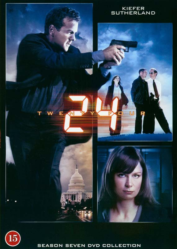 Image of   24 Timer - Sæson 7 - Collectors Edition - DVD - Tv-serie