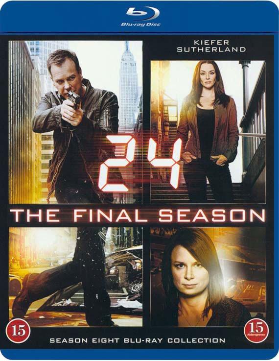 Image of   24 Timer - Sæson 8 - Den Sidste Sæson - Blu-Ray - Tv-serie