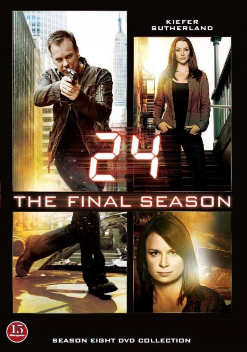 Image of   24 Timer - Sæson 8 - Den Sidste Sæson - DVD - Tv-serie