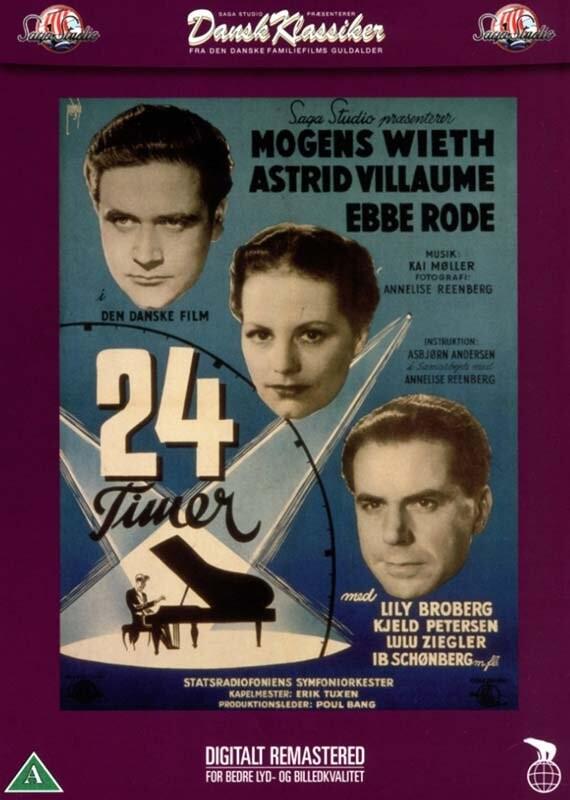 Image of   24 Timer - Ebbe Rode - DVD - Film