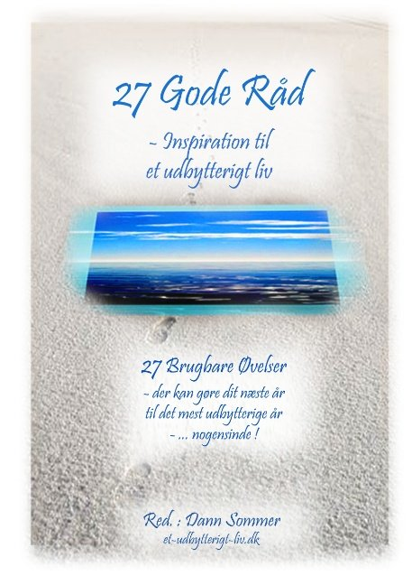 Image of   27 Gode Råd - Inspiration Til Et Udbytterigt Liv - Dann Sommer - Bog