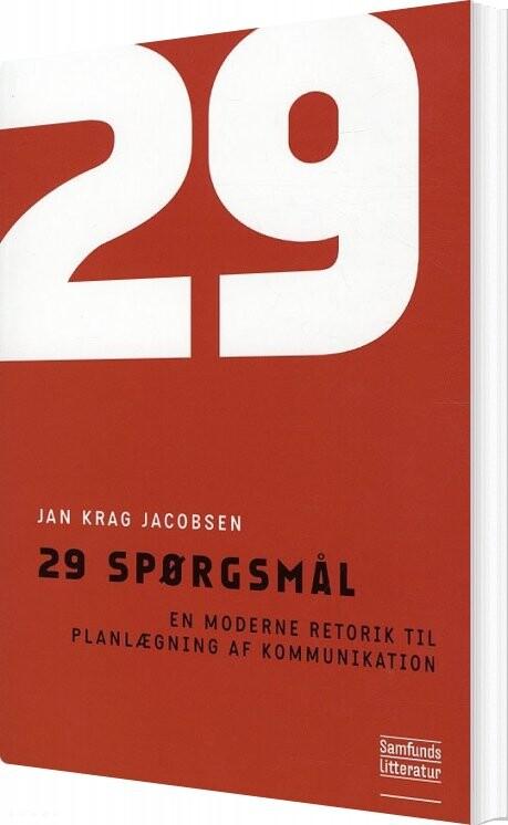 Image of   29 Spørgsmål - Jan Krag Jacobsen - Bog