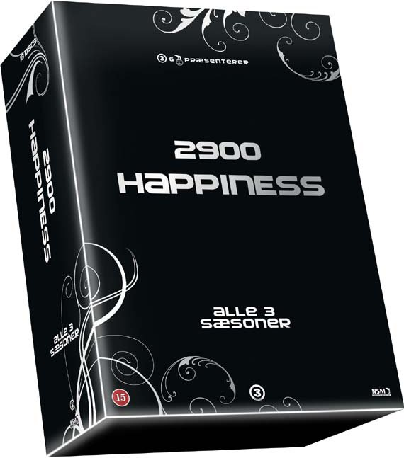 Image of   2900 Happiness - Sæson 1-3 - Komplet Box - DVD - Tv-serie