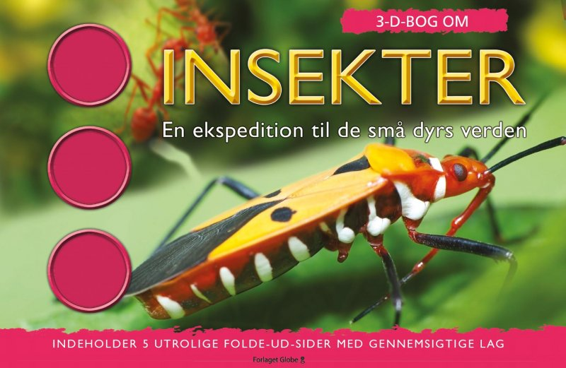 Image of   3d Bog Om Insekter - Jen Green - Bog