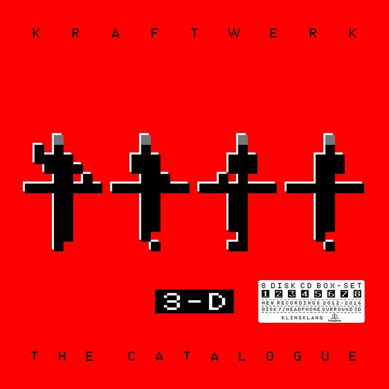 Image of   Kraftwerk - 3-d The Catalogue - CD
