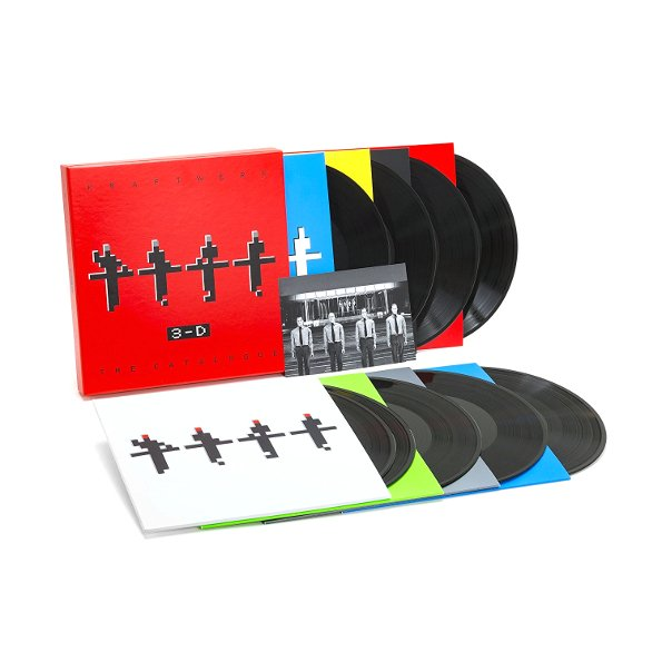 Kraftwerk - 3-d The Catalogue - Vinyl / LP