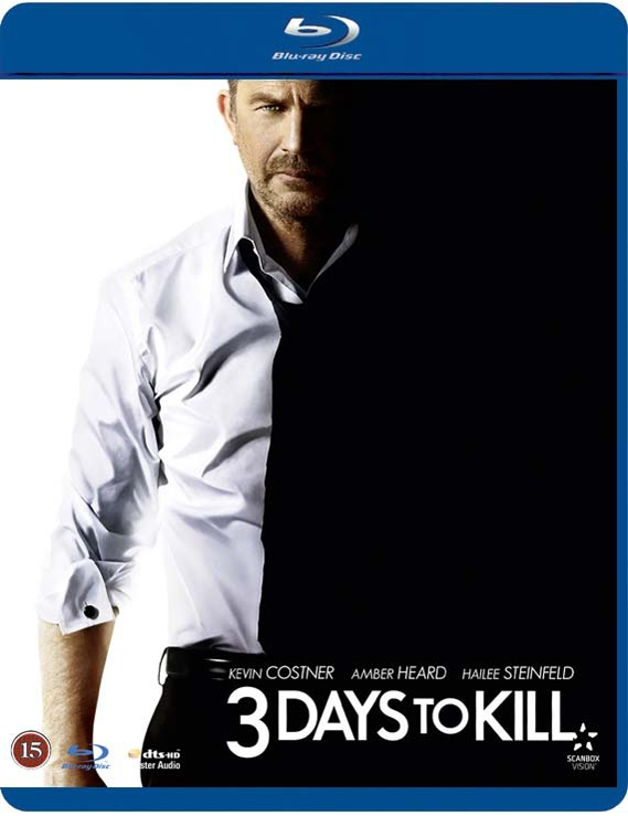 Image of   3 Days To Kill - Blu-Ray