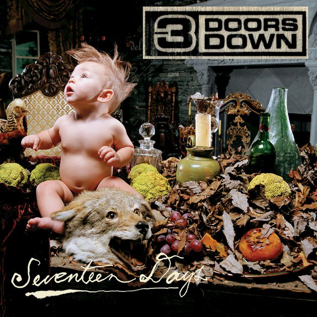 Image of   3 Doors Down - Seventeen Days - CD