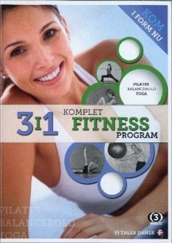 Billede af 3-i-1 Komplet Fitness Program - DVD - Film