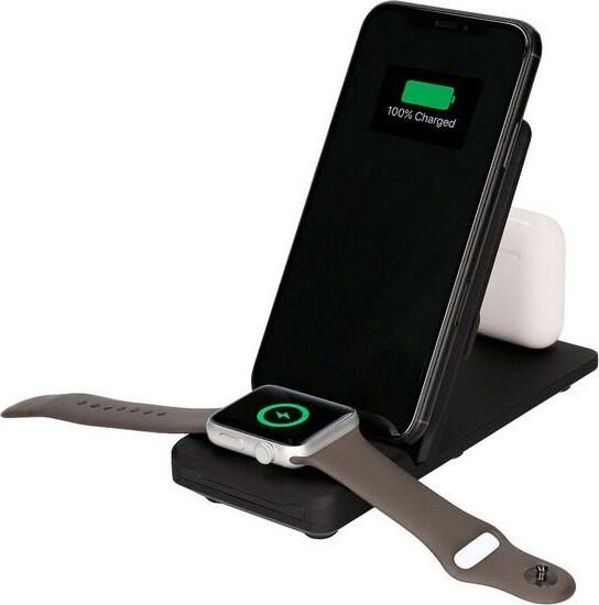 Billede af 3-i-1 Trådløs Qi Oplader Station Til Iphone Og Apple Watch