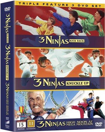 Image of   3 Ninjas Boks - DVD - Film