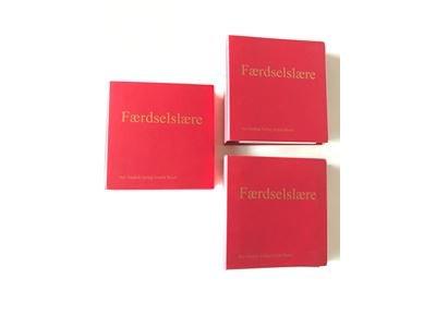 Image of   3 Ringbind + 1 Skilleblade. Eefsen; Færdselslære - Poul Eefsen - Bog