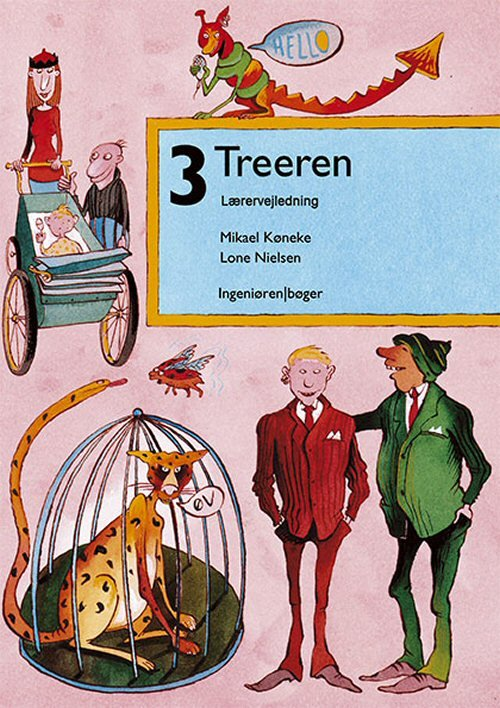 Image of   3 - Treeren - Lone Nielsen - Bog