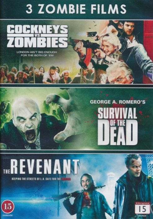 Image of   Cockneys Vs Zombies // Survival Of The Dead // The Revenant 2009 - DVD - Film