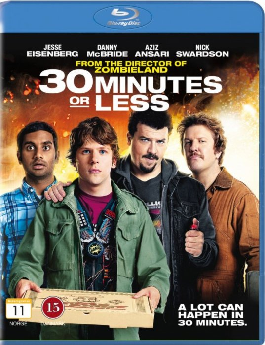Image of   30 Minutes Or Less - Blu-Ray