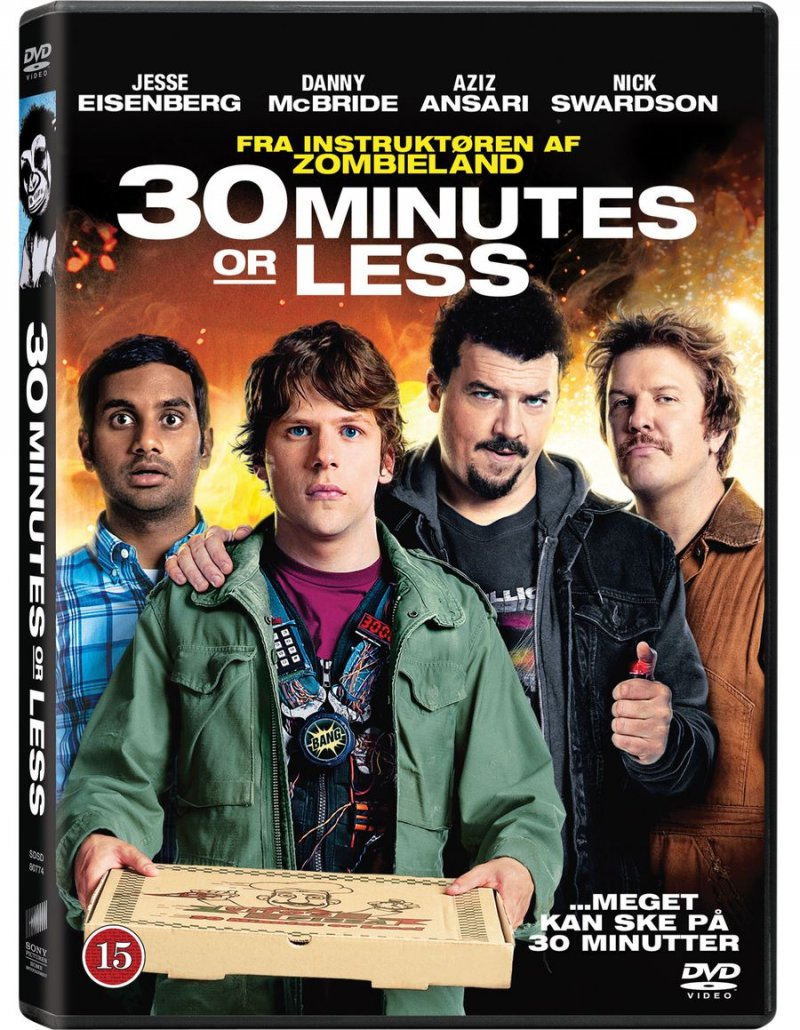 Image of   30 Minutes Or Less - DVD - Film