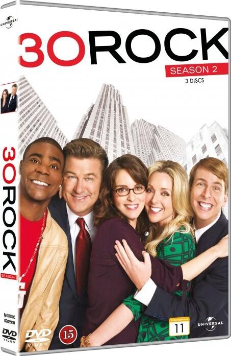 Image of   30 Rock - Sæson 2 - DVD - Tv-serie