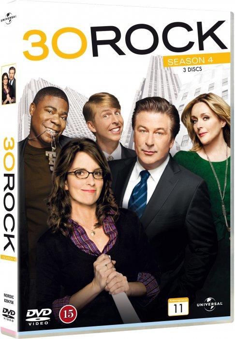 Image of   30 Rock - Sæson 4 - DVD - Tv-serie