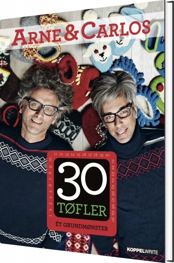 Image of   30 Tøfler - Arne & Carlos - Bog