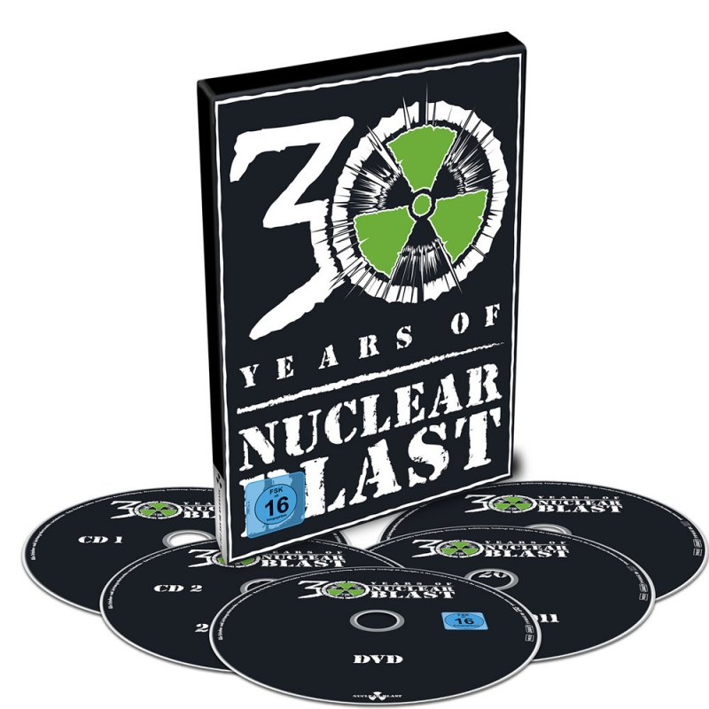 Image of   30 Years Of Nuclear Blast Compilation - DVD - Film