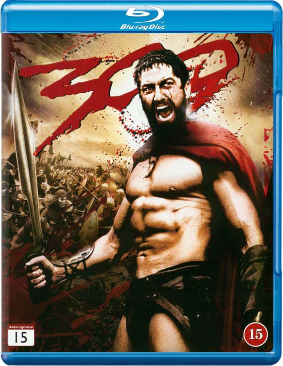 Image of   300 - Gerard Butler - Blu-Ray