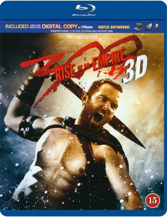 Billede af 300 - Rise Of An Empire - 3D Blu-Ray