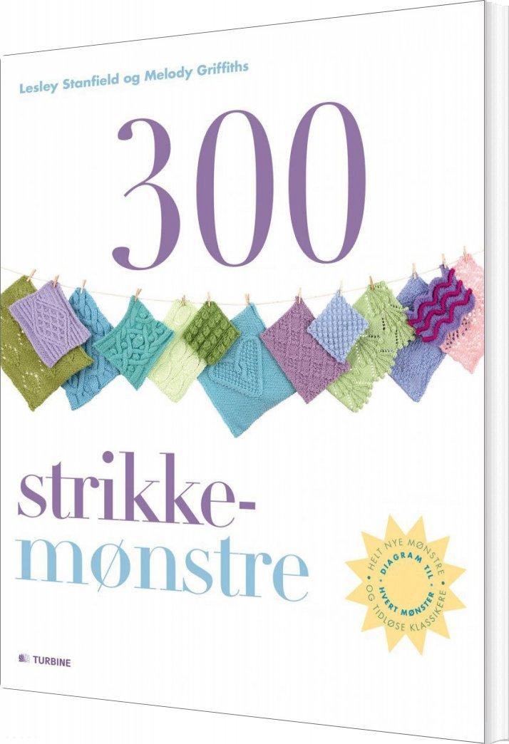 Image of   300 Strikkemønstre - Lesley Stanfield - Bog