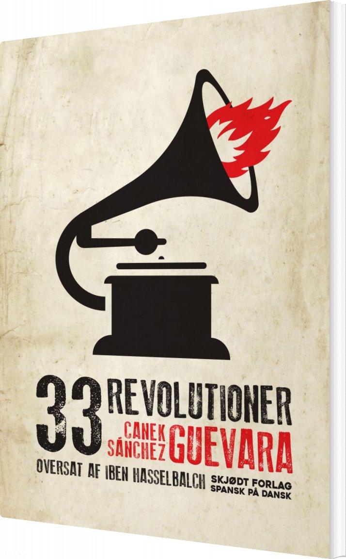 Image of   33 Revolutioner - Canek Sánchez Guevara - Bog