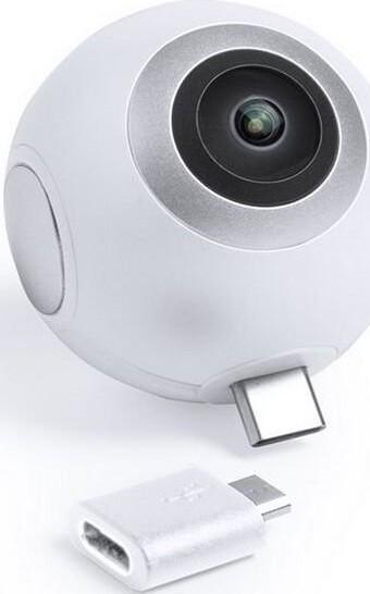 Image of   360º Kamera Til Smartphone I Hd - Hvid