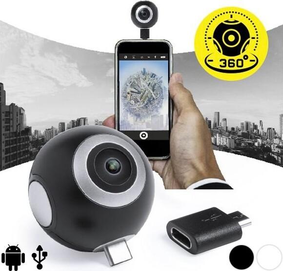 Image of   360º Kamera Til Smartphone I Hd - Sort