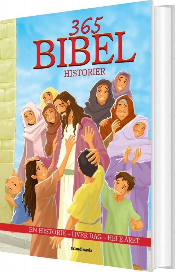 Image of   365 Bibelhistorier - Anette Broberg Knudsen - Bog